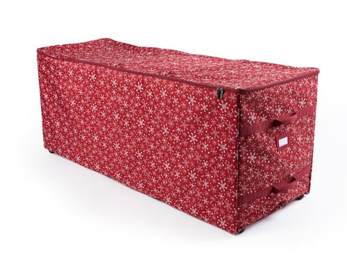 Christmas Tree Rolling Structured Bag
