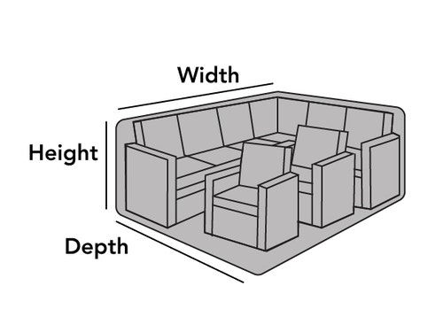 Outdoor Sectional Set Cover