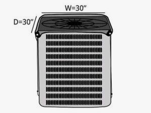 air-conditioning-mesh-top-cover-line-drawing-873