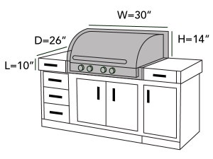 built-in-grill-cover-line-drawing-132