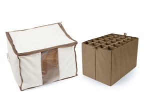 Canvas Storage Bag - Up To 24 XTall Compartments