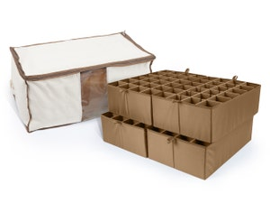 Canvas Storage Bag - Up To 96 Tall Compartments
