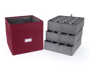 Adjustable Cube Storage Bin - Up To 48 Standard Compartments