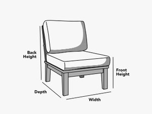 custom-size-armless-chair-cover-line-drawing