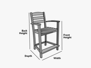 custom-size-bar-chair-cover-line-drawing
