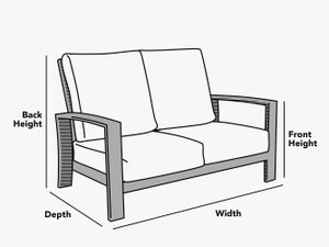 custom-size-bench-glider-cover-line-drawing