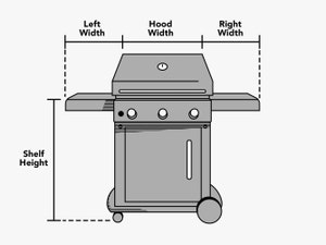 custom-size-cart-grill-cover-line-drawing
