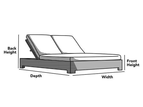Custom Size Chaise Cover
