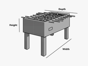 custom-size-foosball-table-cover-line-drawing
