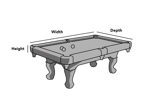 Custom Size Pool Table Cover