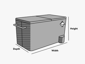 custom-size-ice-chest-cover-line-drawing