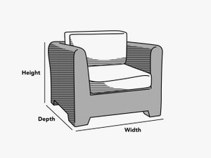 custom-size-modular-sectional-club-chair-cover-line-drawing
