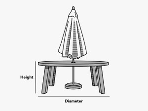 custom-size-round-dining-table-with-umbrella-hole-cover-line-drawing