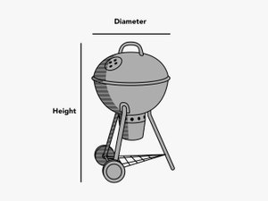 custom-size-round-kettle-cover-line-drawing
