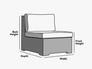 custom-size-sectional-armless-chair-cover-line-drawing