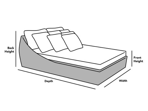 Custom Size Square/Rectangular Day Bed Cover