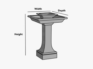 custom-size-square-rectangular-fountain-cover-line-drawing