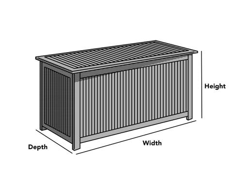 Outdoor Deck Box Cover