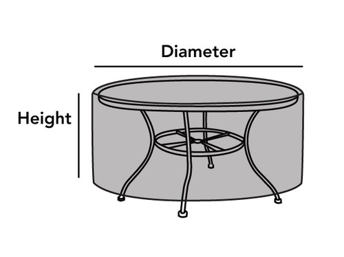 Outdoor Round Dining Table Cover