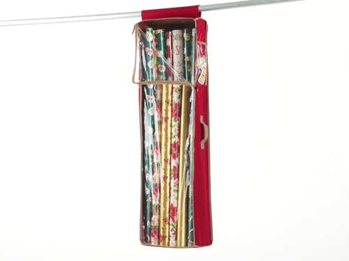 Holiday Hanging Gift Wrap