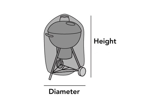 Charcoal Kettle Grill Cover
