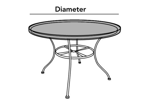 Outdoor Round Table Top Cover