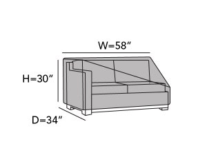 left-arm-sectional-loveseat-cover-line-drawing-812