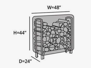 log-rack-cover-4-ft-line-drawing-742