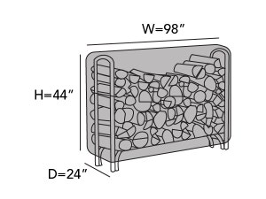 log-rack-cover-8-ft-line-drawing-744