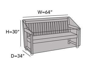 outdoor-patio-bench-covers-line-drawing-b05