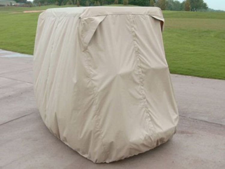 Polyester outdoor golf cart cover