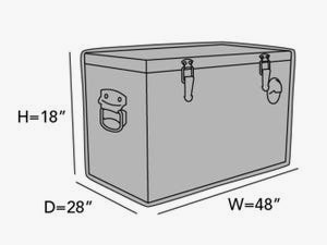 rectangular-ice-chest-cover-line-drawing-b75