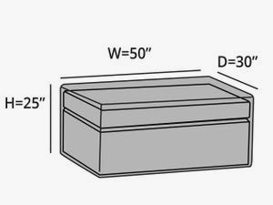 rectangular-outdoor-ottoman-cover-line-drawing-cc5