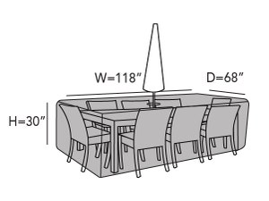 rectangular-patio-table-set-cover-hole-line-drawing-413