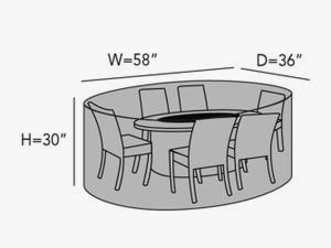 round-firepit-chair-set-line-drawing-f07