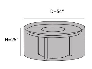round-outdoor-firepit-cover-line-drawing-f05