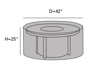 round-outdoor-firepit-cover-line-drawing-f19