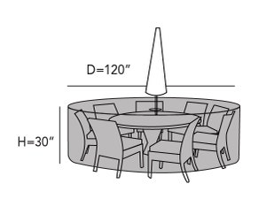 round-patio-table-set-cover-hole-line-drawing-464
