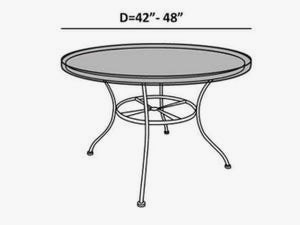 round-patio-table-top-cover-line-drawing-451
