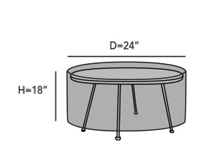 round-small-accent-table-cover-line-drawing-k11