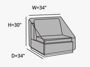sectional-armless-chair-cover-line-drawing-244