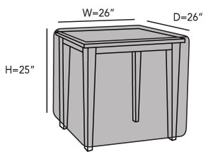square-accent-table-cover-line-drawing-k40