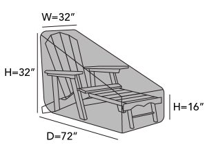 square-adirondack-chaise-lounge-cover-line-drawing-k31