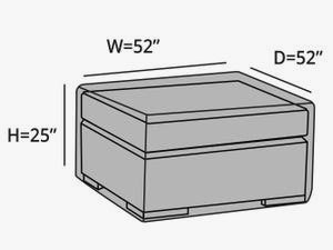 square-outdoor-ottoman-cover-line-drawing-4c5