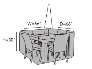 square-patio-table-set-cover-hole-line-drawing-433
