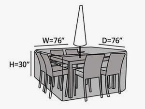 square-patio-table-set-cover-hole-line-drawing-434