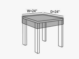 square-table-top-cover-line-drawing-453