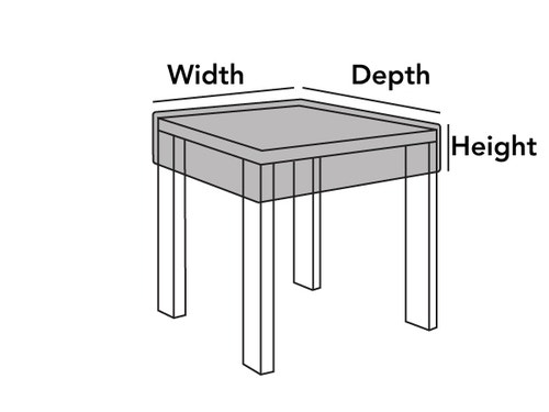 Outdoor Square Table Top Cover