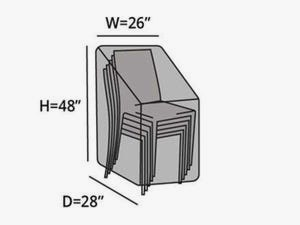 stacking-chair-cover-line-drawing-k05