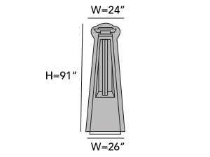 triangular-patio-heater-cover-line-drawing-729